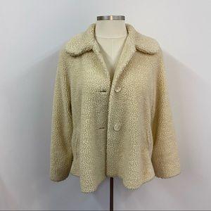 Vintage Orvis Sherpa Teddy Swing Jacket